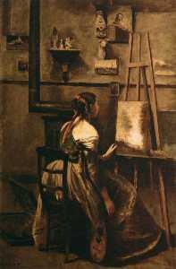 Corot's Studio