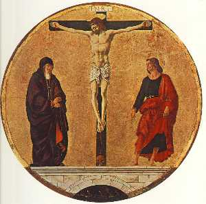 Griffoni Polyptyque : la crucifixion