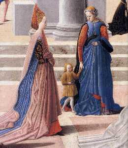 La nascita della Vergine particolare