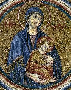 St Peter Recommending Bertoldo Stefanschi to the Virgin (detail)