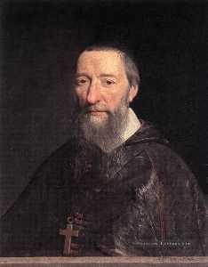 Портрет Епископ Jean-Pierre Камю