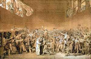 The Oath of the Tennis Court