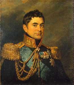 Porträt von Pjotr M . Wolkonski