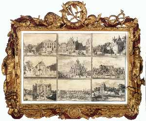 Nine Images of Public Buildings of Delft