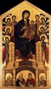 The Madonna in Majesty (Maestà)