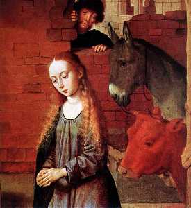The Nativity (detail)