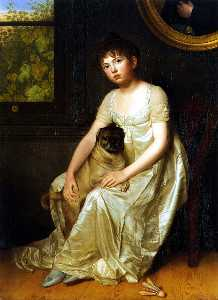 Portrait of Sylvie de la Rue