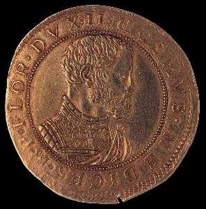 Gold Coin on Cosimo I (reverse)
