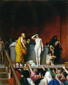 Slave Market in Rome