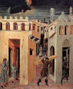 A Miracle by St Nicholas of Tolentino