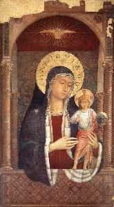Madonna and Child Giving Blessings