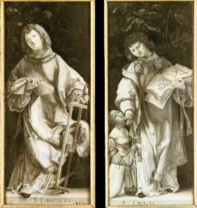 St Lawrence and St Cyricus