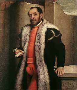 Portrait of Antonio Navagero