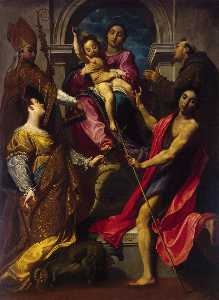Madonna and the Child with Saints