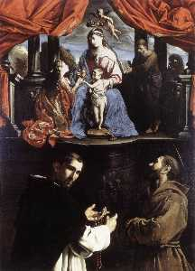 The Mystic Marriage of St Catherine of Alexandria