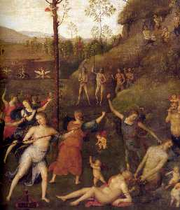 Combat of Love and Chastity (detail)