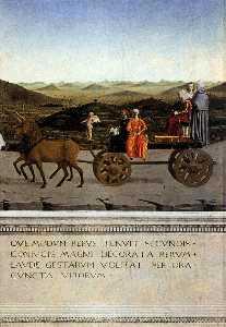 Triumph of Battista Sforza