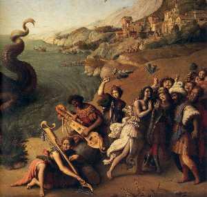 Perseus Frees Andromeda (detail) (10)