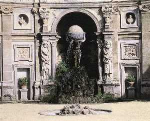 Atlas Fountain (detail)