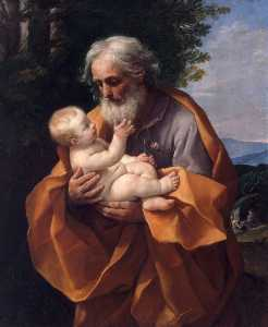 St Joseph with the Infant Jesus