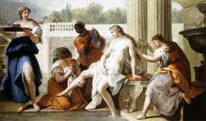 Bathsheba at the Bath