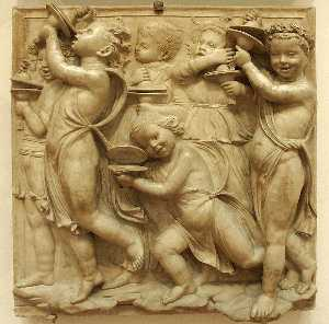 Cantoria: fourth bottom relief