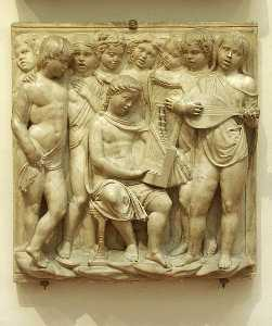 Cantoria: second bottom relief