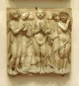 Cantoria: third bottom relief