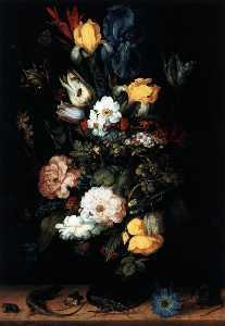 花束 の 花