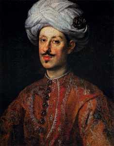 Portrait of Ferdinando II de' Medici Dressed in Oriental Costume