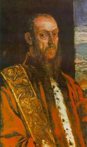 の肖像画 ビンチェンツォ  モロシーニ