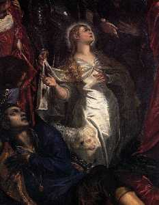 The Miracle of St Agnes (detail)