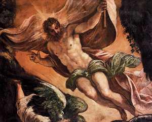The Resurrection of Christ (detail)