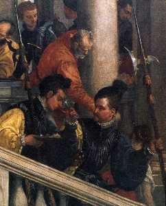 Feast in the House of Levi (detail) (14)