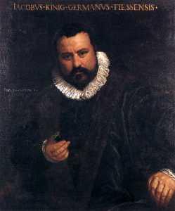 Портрет Иоганн якоб könig