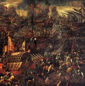 Battle of Lepanto (detail)