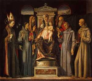 Virgin and Child Enthroned with Saints (Sacra Conversazione)