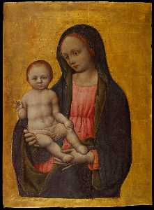 Virgin and Child Blessing
