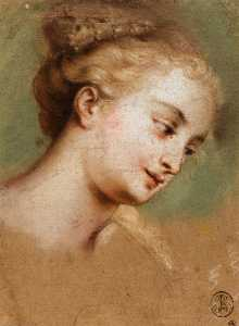 Study for the Head of Campaspe