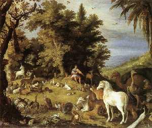 Landscape with a Deer Hunt