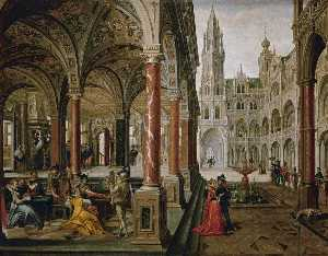 Palace with Musicians