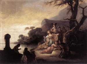 Finding of Moses in the Nile