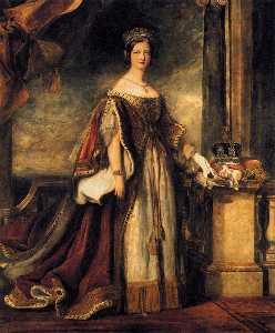 Queen Victoria (detail)