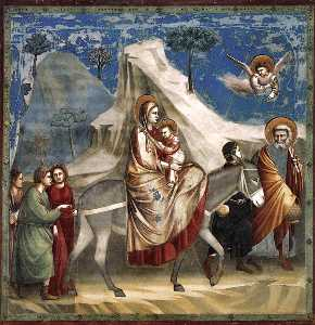 No. 20 Scenes from the Life of Christ: 4. Flight into Egypt