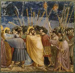 No. 31 Scenes from the Life of Christ: 15. The Arrest of Christ (Kiss of Judas)