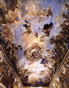 Ceiling decoration of the Gallery (detail)