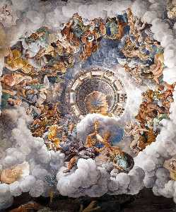 Vault: The Assembly of Gods around Jupiter's Throne