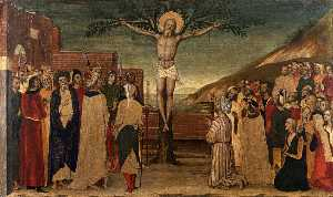Crucifixion of St Andrew