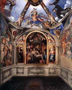 View of the Chapel of Eleonora da Toledo