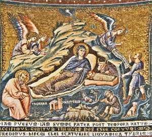 Apse: 3. Nativity of Christ